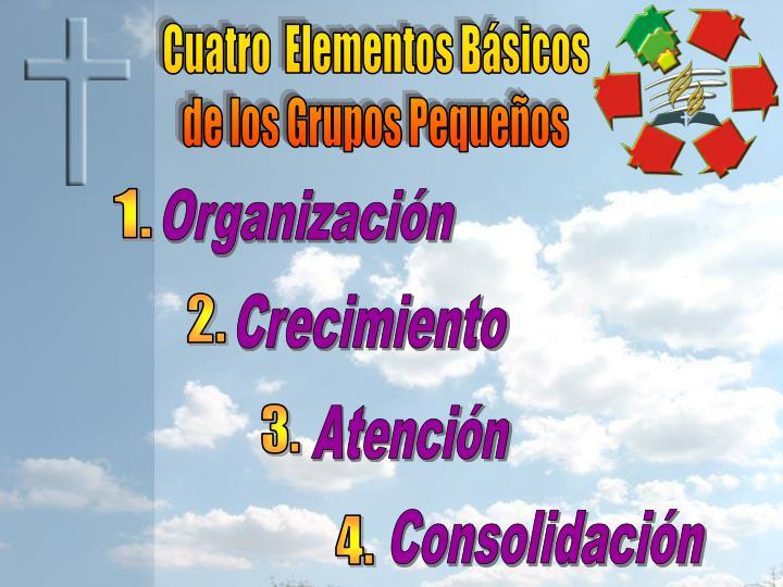 Cuatro  Elementos Básicos