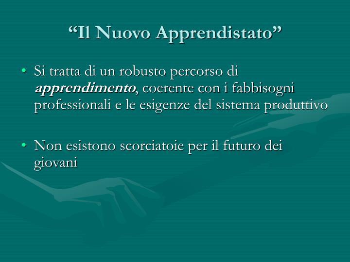 """""""Il Nuovo Apprendistato"""""""