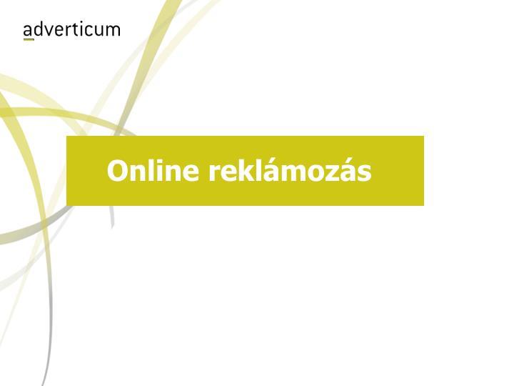 Online reklámozás