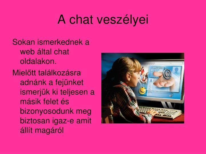 A chat veszélyei