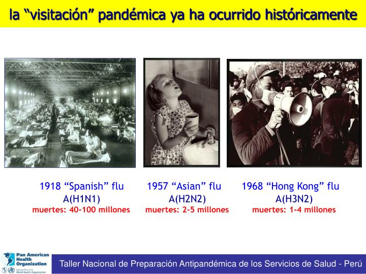 "1918 ""Spanish"" flu"