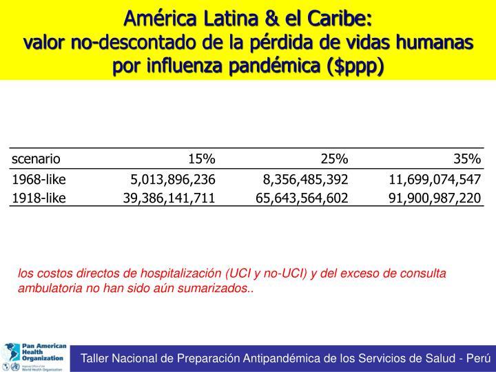 Taller Nacional de Preparación Antipandémica de los Servicios de Salud - Perú