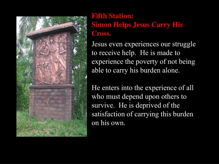 Fifth Station: