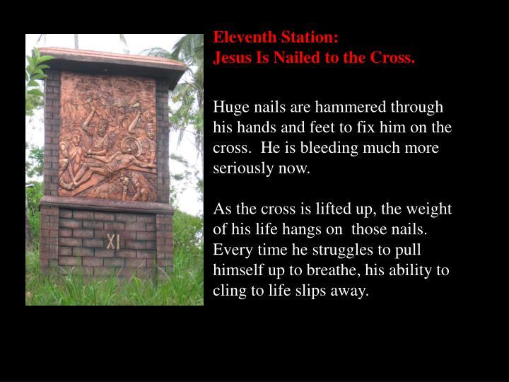 Eleventh Station:
