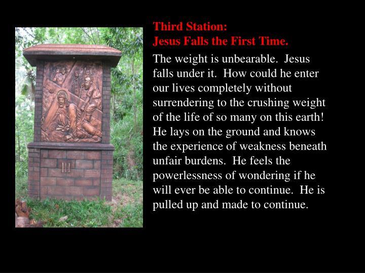 Third Station: