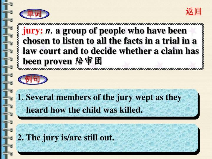 jury: