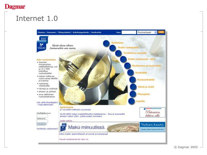 Internet 1.0