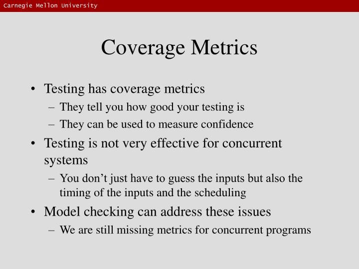 Coverage Metrics