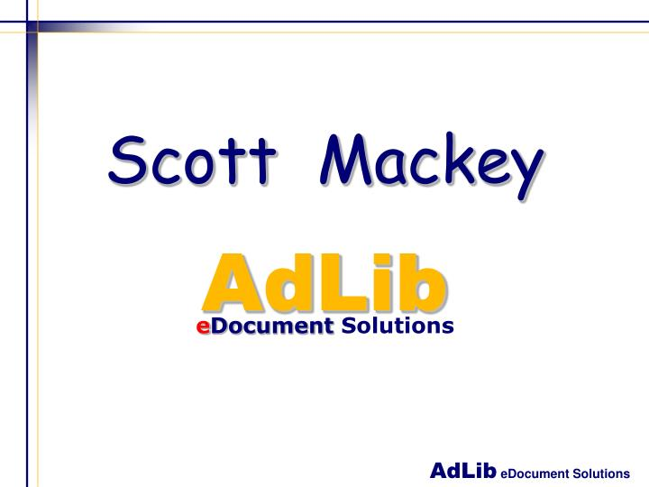 Scott mackey
