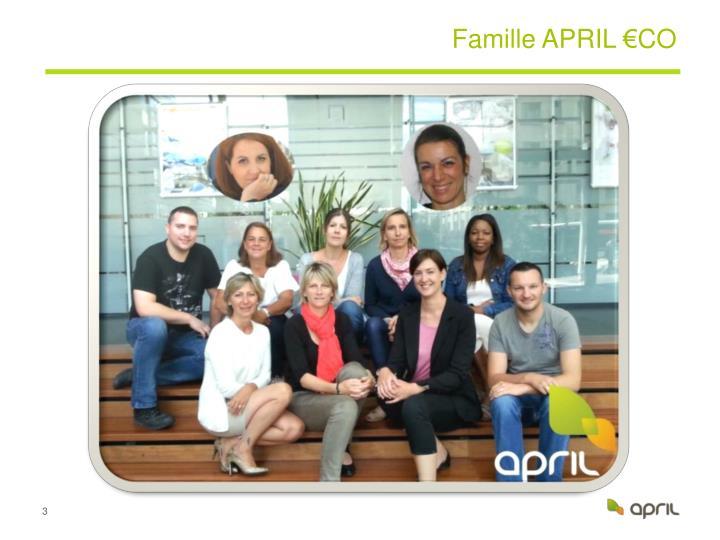 Famille APRIL €CO