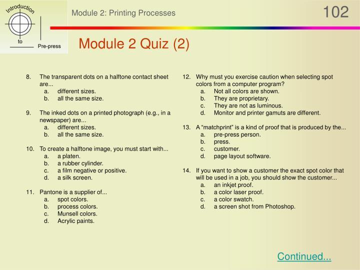 Module 2 Quiz (2)