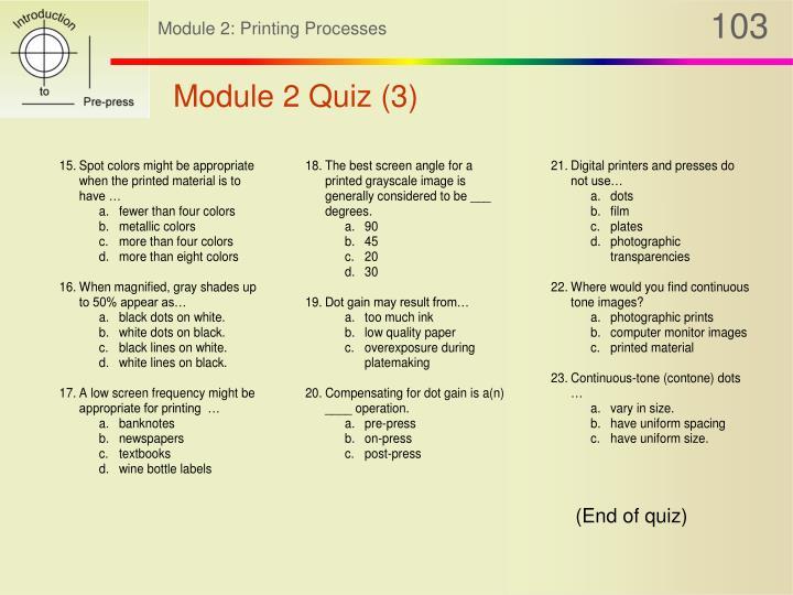 Module 2 Quiz (3