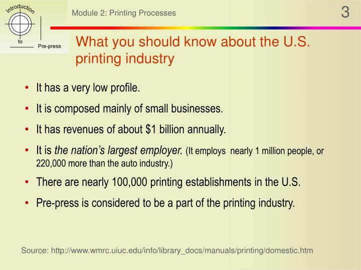 What you should know about the U.S. printing industry