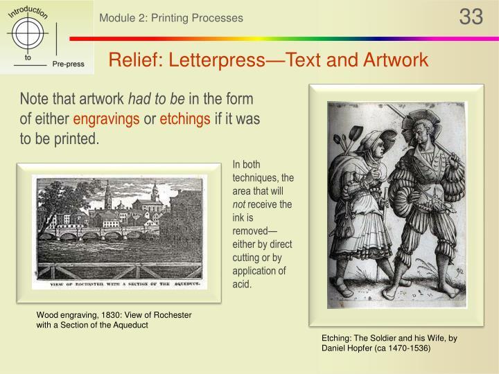 Relief: Letterpress—Text