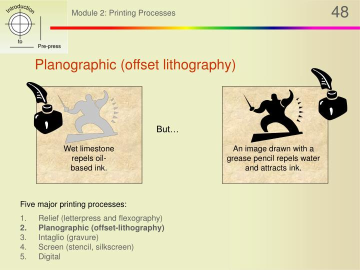 Planographic (offset lithography)