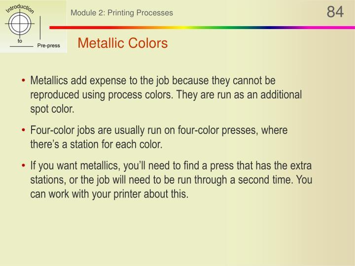 Metallic Colors