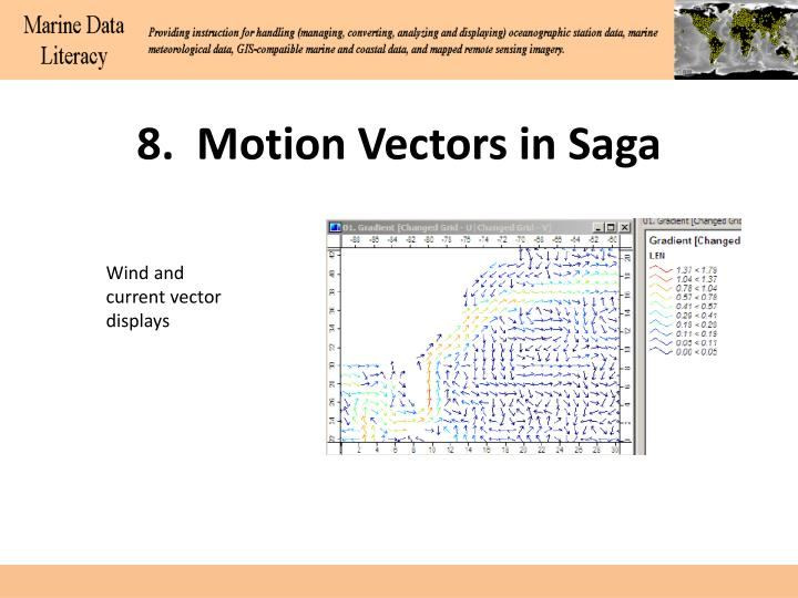 8.  Motion Vectors in Saga