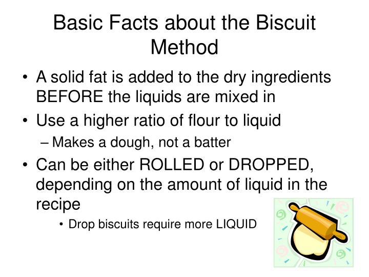 Basic Facts about the Biscuit Method