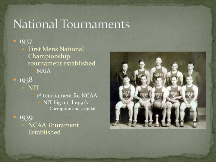 National Tournaments