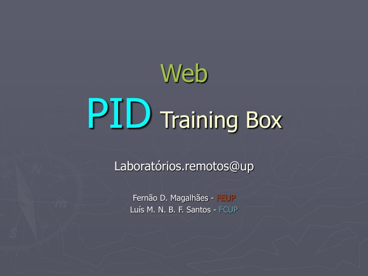 Web pid training box