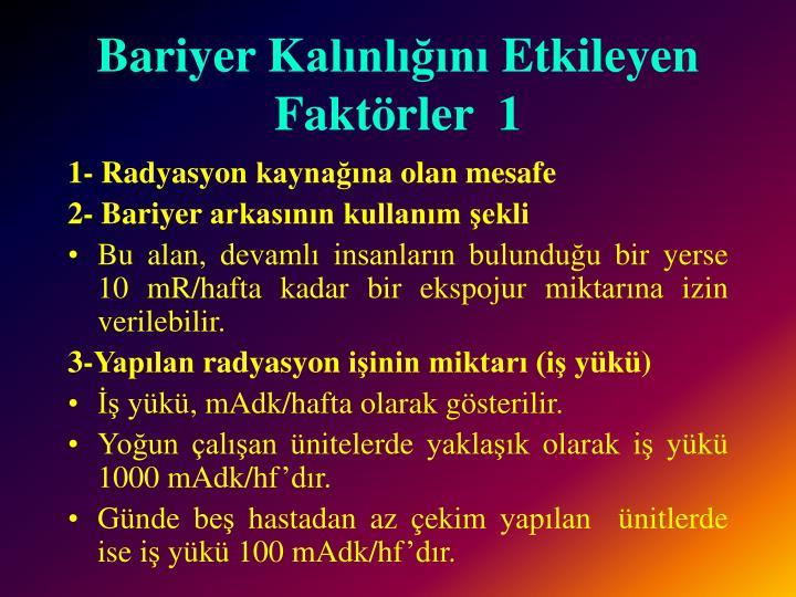 Bariyer