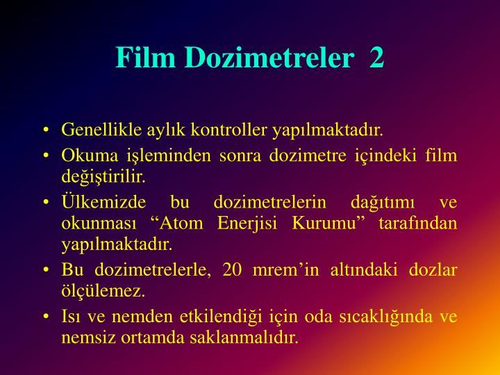 Film Dozimetreler