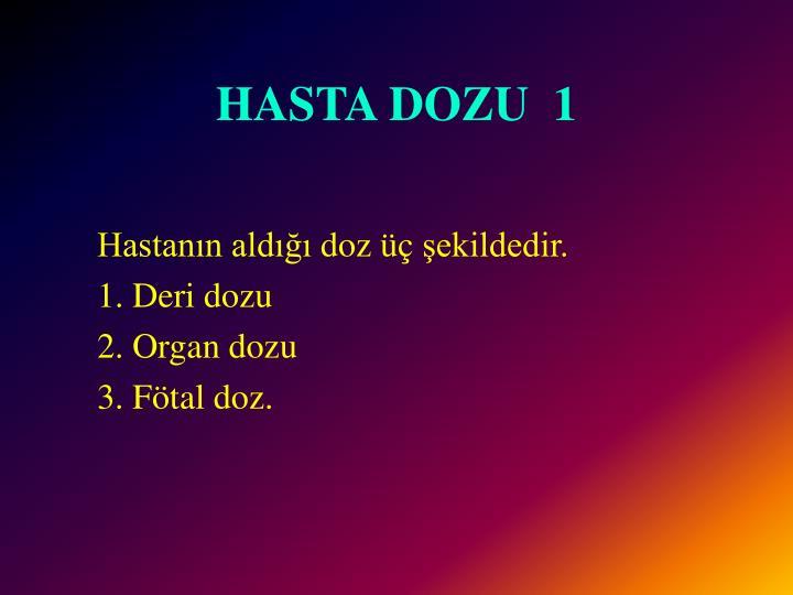 HASTA DOZU