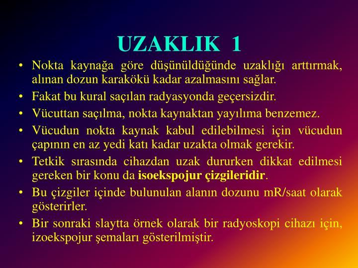 UZAKLIK