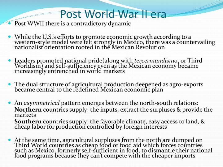 Post World War II era