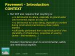 pavement i ntroduction context2