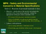 wp 4 safety and environmental concerns in material specifications1