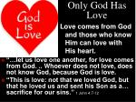 only god has love1