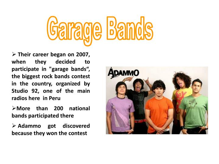 Garage Bands