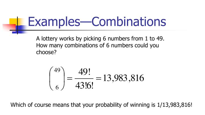 Examples—Combinations