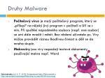 druhy malware