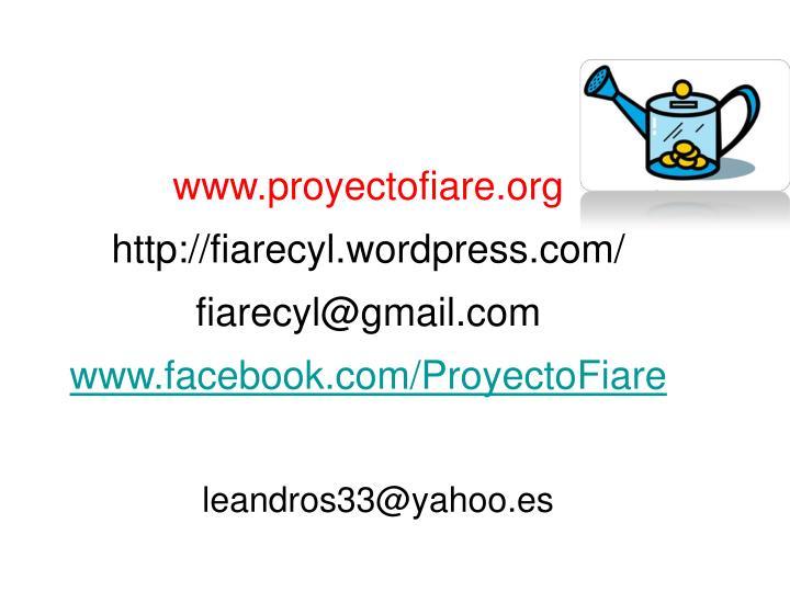 www.proyectofiare.org