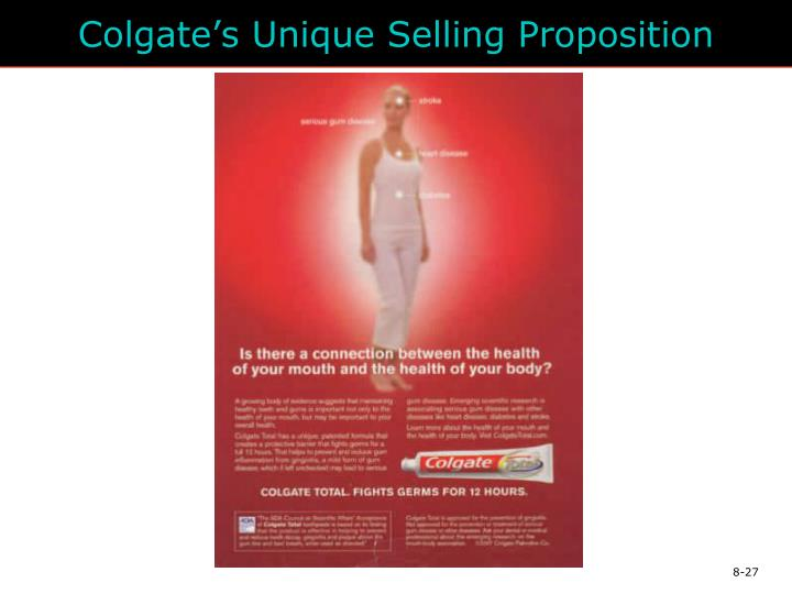 Colgate's Unique Selling Proposition