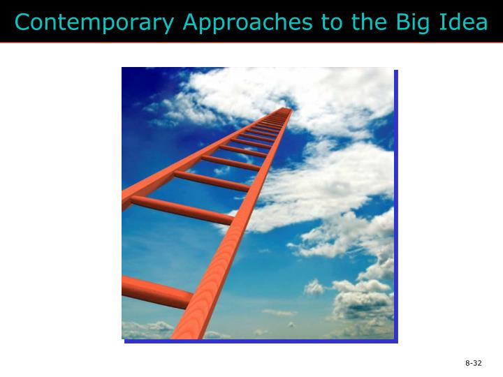 Contemporary Approaches to the Big Idea