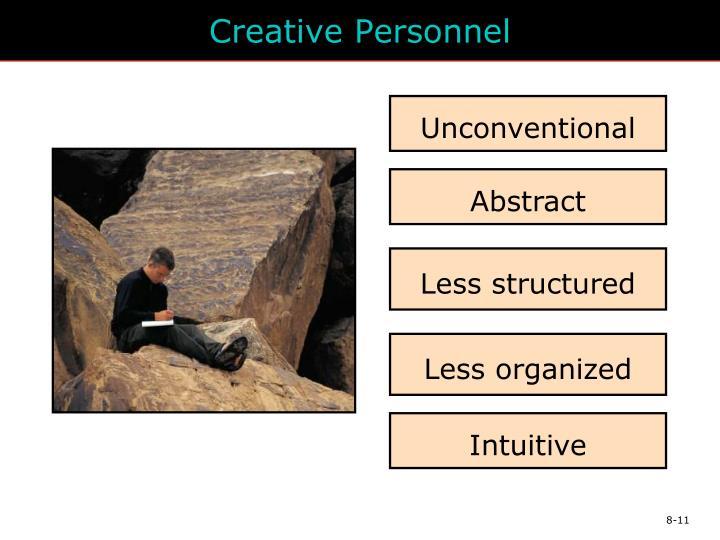 Creative Personnel