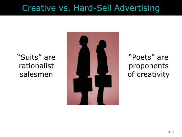 Creative vs. Hard-Sell Advertising