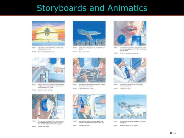 Storyboards and Animatics