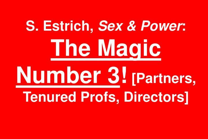 S. Estrich,