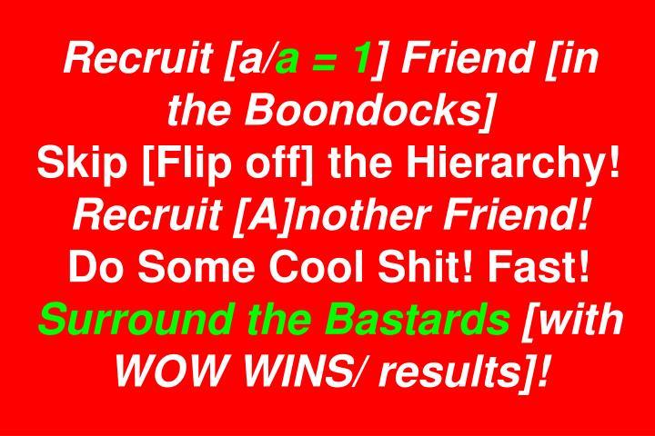 Recruit [a/