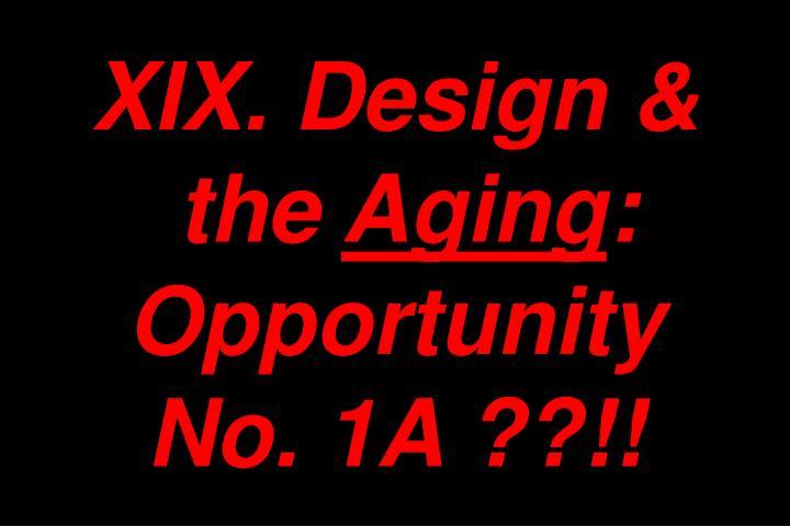 XIX. Design &