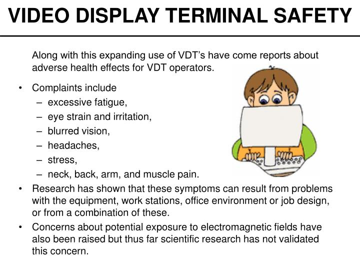 Video display terminal safety2