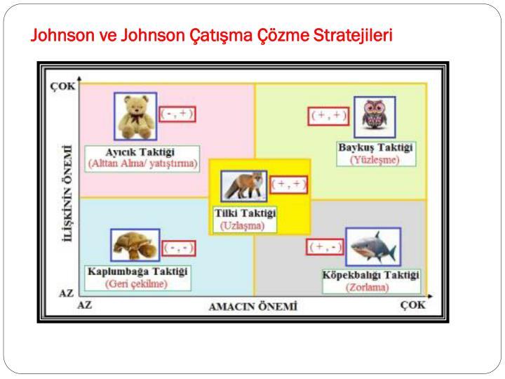 Johnson ve Johnson Çatışma Çözme Stratejileri