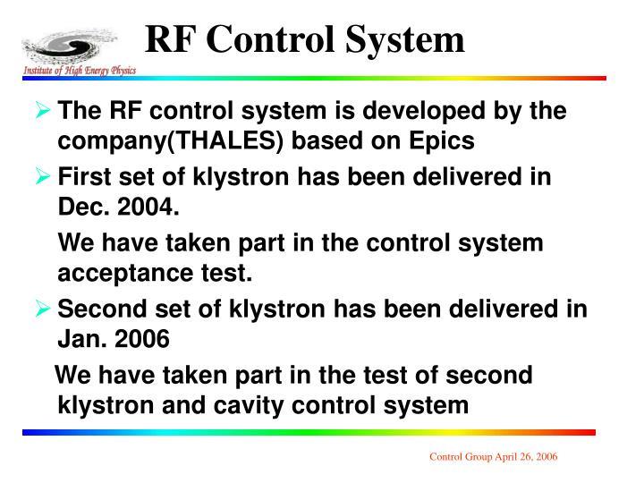 RF Control System