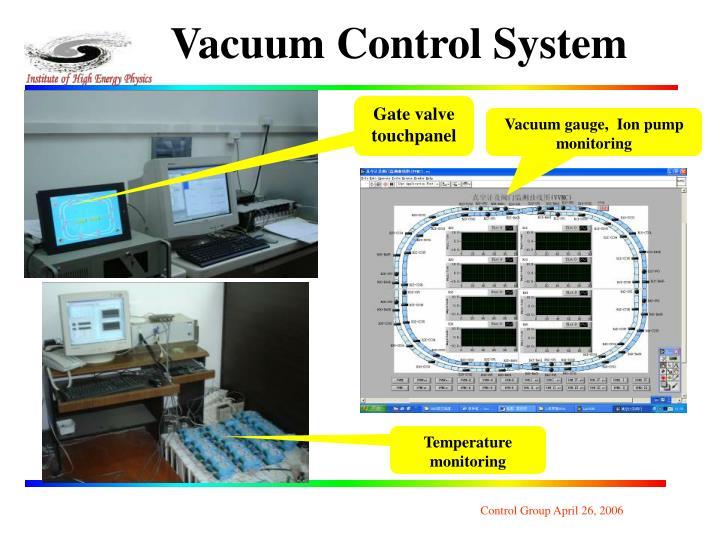 Vacuum Control System