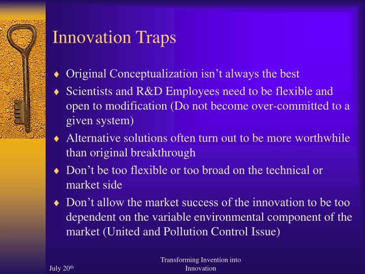 Innovation Traps