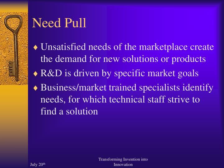 Need Pull